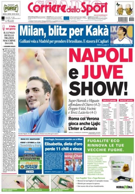 Corriere dello Sport 010913