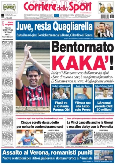 Corriere dello Sport 030913