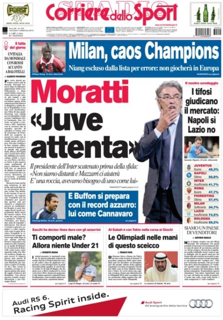 Corriere dello Sport 040913
