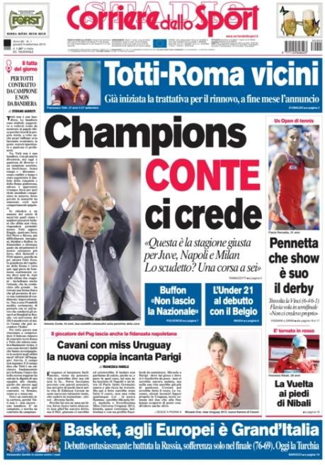 Corriere dello Sport 050913