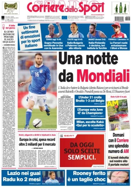 Corriere dello Sport 060913