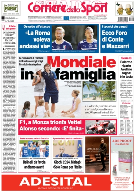 Corriere dello Sport 090913