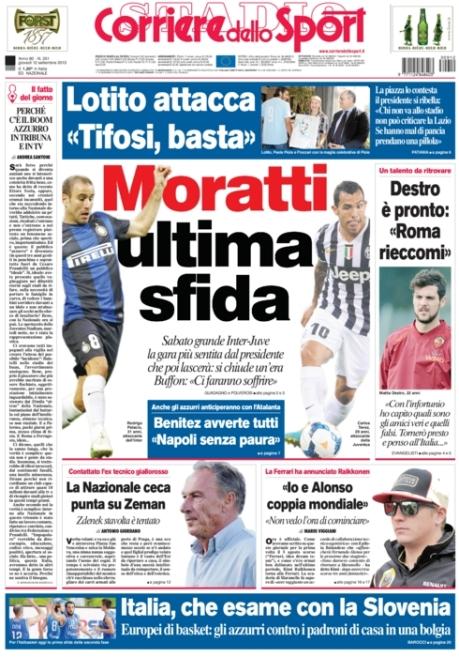 Corriere dello Sport 120913