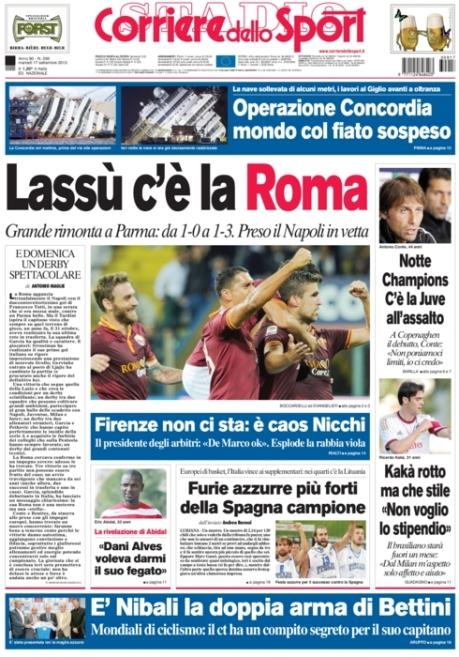 Corriere dello Sport 170913