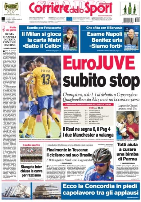 Corriere dello Sport 180913