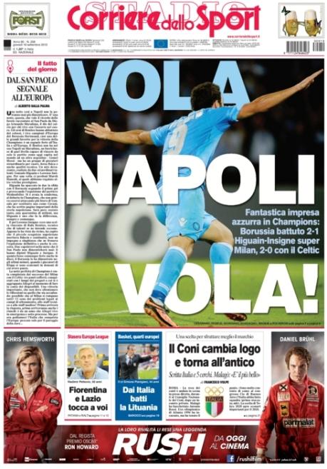 Corriere dello Sport 190913