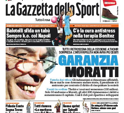 Gazzetta 210913