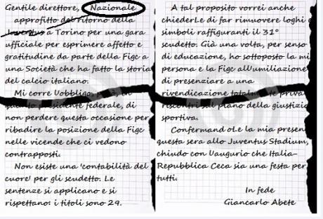 Lettera Abete 1 OK