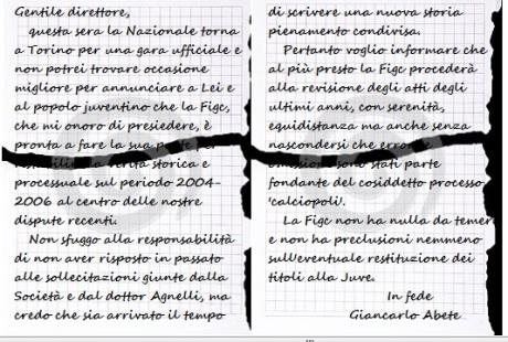 Lettera Abete 2