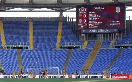 Soccer: Serie A; Roma-Verona