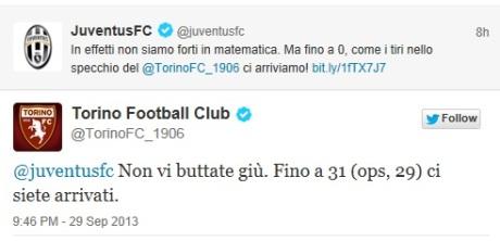 Tweet Torino