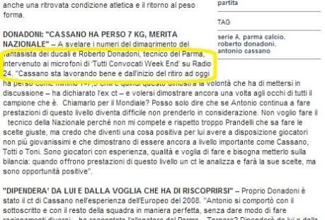 071013 Repubblicait su Cassano 2