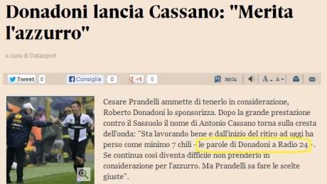 071013 Sole24Oreit su Cassano