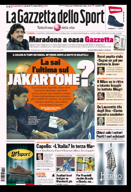 Gazzetta 171013