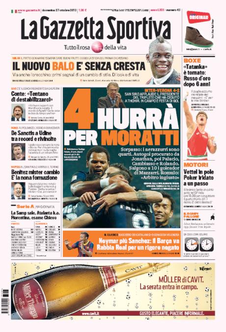 Gazzetta 271013